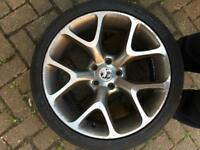 "18"" vxr alloy wheels reps vauxhall vectra c signum astra zafira"