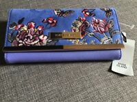 River Island floral purse