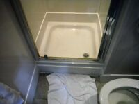 Clearance and Renovation of a building- Shower Trays