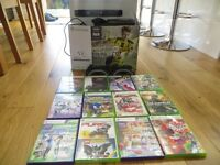 Xbox 360 120GB HDD with Kinect, 2 controllers, 2 Microphones and 12 Games incl. Lips and Fifa 17