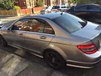 Mercedes C180 Kompressor Sport AMG 2009/59 - Gunmetal - Tints - Black Alloys - 80k miles - Leather