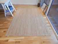 IKEA LOHALS Rug + IKEA Rug underlay with anti-slip – Collection Only!!!