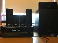 REDUCED - Onkyo 5.1 Home Theatre System (HT-R370 Receiver & HTP-370 Speakers)