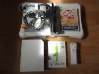 Nintendo Wii Console with Fit Game Balance Board Bundle