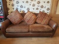 3 Seater Sofa and 1 large armchair £ 80 Quick sale