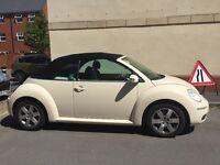 Vw beetle convertible 1.4 petrol