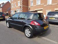 renault megane black 1.6 petrol 2004 manual