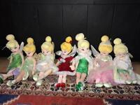 Christmas Tinkerbell dolls