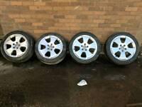 """Audi a3 17"""" alloy wheels 5x112"""