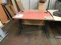 1200mm x 800mm Straight Height Adjustable Desk