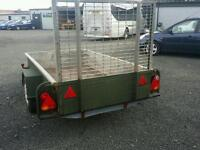 Bateson 8 x 4 trailer with brand new lights and brakes