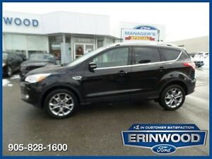 2014 Ford Escape Titanium - ONE OWNER CPO 24M@1.9%/12MO/20,000KM