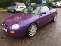 MGF for sale low mileage only 81000 and long mot