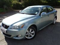 Lexus IS 220D Metalic light blue, great condition, Selling due to company car