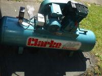Clarke air compressor 160 litres