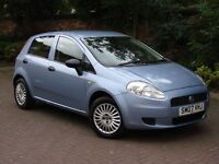 EXCELLENT CAR! 2007 FIAT GRANDE PUNTO 1.2 ACTIVE 5dr, ONLY 67000 MILES, 1 YEAR MOT, WARRANTY