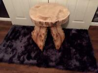 Bespoke Handmade Solid Wooden Tree Trunk Table