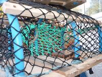 4 crab/lobster pots.