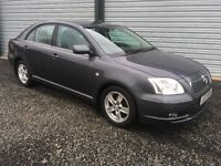 2006 TOYOTA AVENSIS 1.8 T3X 12 MONTHS MOT 1 OWNER, DEBIT & CREDIT CARDS ACCEPTED