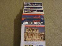 CURRENT WORLD ARCHAEOLOGY MAGAZINES from Issue No. 1