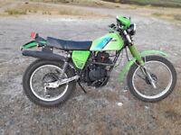kawasaki kl 250 classic 1984