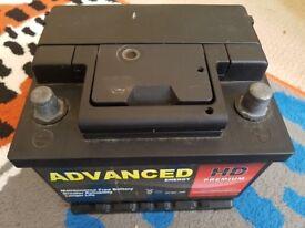 Car battery 45 Ah