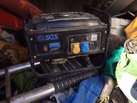 Petrol generator 2200w