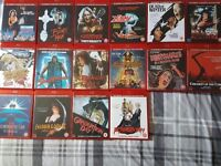 16 Blu Rays - Slasher horror films