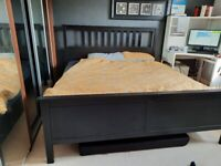 Super King size bed PLUS mattress for £100.00