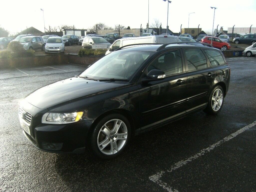 bef4d19b6d 2009 59 VOLVO V50 1.6 D DRIVE S 5D 109 BHP      GUARANTEED FINANCE PART EX  WELCOME