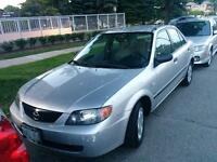 2003 Mazda protege low mileage