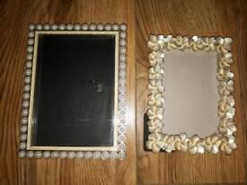 Photo frames 7×5 & 6×4