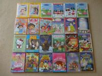 Childrens DVDs - Suitable for Young Girls - 24 Titles