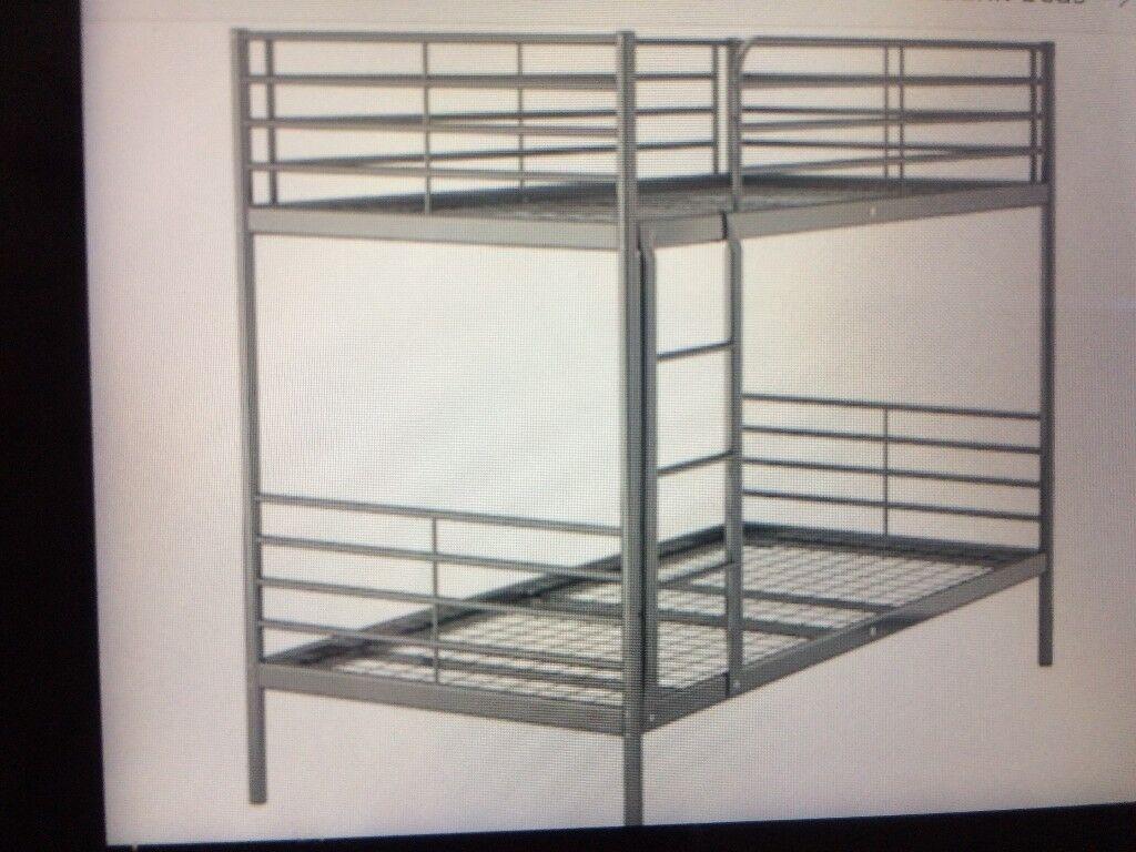 Ikea Svarta bunk beds. As new.
