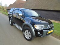 Mitsubishi L200 Diamond double cab, 70k Miles, 2008, Automatic Fully loaded, Very well presented!
