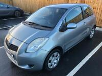 TOYOTA YARIS 1.0 F/S/H LADY OWNER LONG MOT RECENTLY SERVICED!