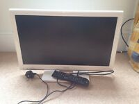 "Toshiba 23"" HD TV with built in DVD, USB and HDMI"