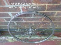 Steeled Rimmed Bicycle Wheel Wanted