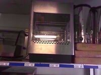 PASTRY COMMERCIAL WARMING DISPLAY HOT CABINET RESTAURANT CATERING MACHINE TAKEAWAY CANTEEN SHOP