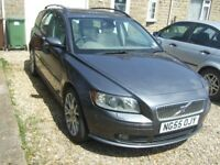 Volvo V50, 2006, dark grey. Starts and runs well, very clean. All original features.