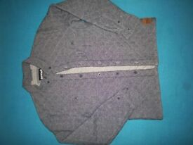 Boys Sonneti Padded Denim Shirt Jacket Age 12-13 Years IP1