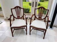 Wade dining table chairs