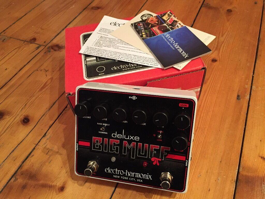 Electro Harmonix Big Muff Pi Deluxe Fuzz Pedal New In Box