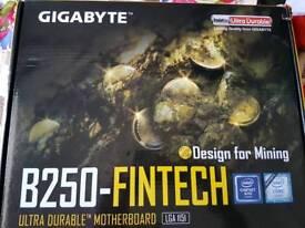 Gigabyte B250-Fintech LGA 1151 mining motherboard