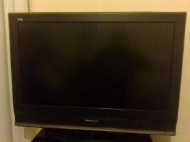 """Panasonic 32"""" LCD television"""