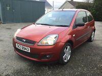 Ford Fiesta 1.4 diesel mot full year 23/2/18 £30 tax 2007