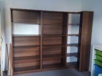 3 piece storage shelf unit