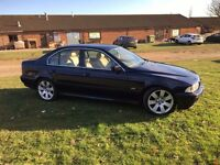 BMW E39 5 series 2001 2.5L new MOT