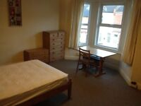 Massive furnished room close to city centre in shared house