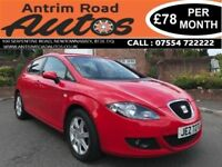 2006 SEAT LEON SE 1.6 ** SERVICE HISTORY ** FINANCE AVAILABLE WITH NO DEPOSIT **